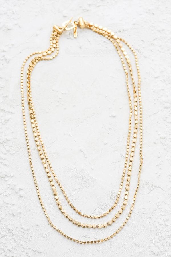 Disc Elegance Necklace By Israeli Designer Shlomit Ofir