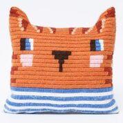 SOZO - ערכת רקמה כרית: חתול