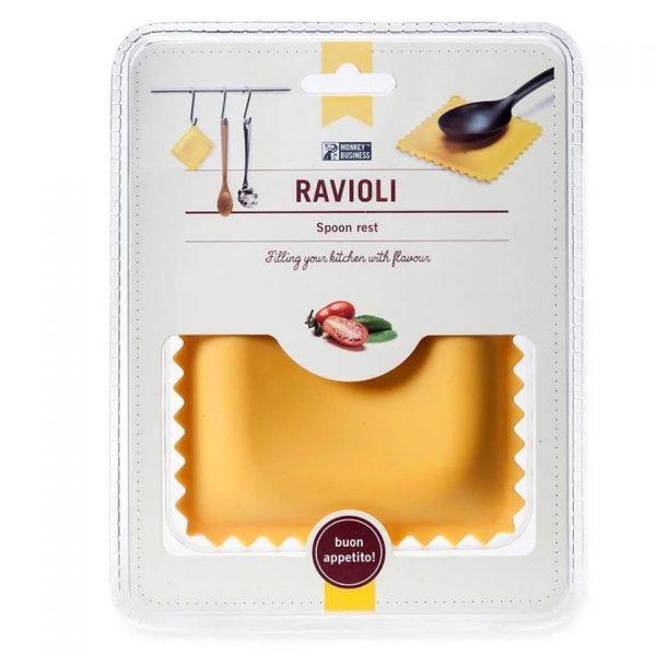 Ravioli - תחתית להנחת כף בישול בצורת רביולי. מתנה לחג, מתנות לעובדים לחג
