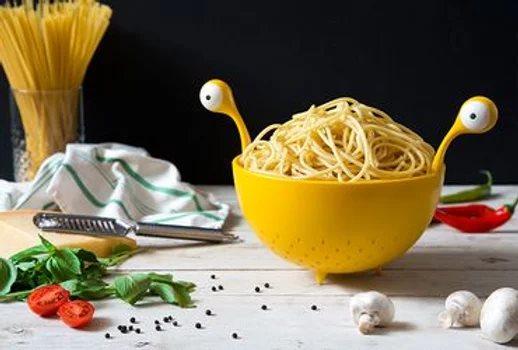 מסננת מפלצת ספגטי Spaghetti Monster, מתנה לחג ללקוחות, מתנה לחג לחמות
