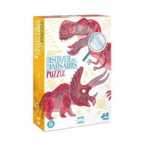 פאזל: דינוזאורים