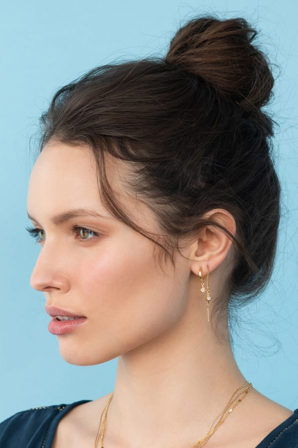 -mythos-Earrings- עגיליי שרשרת ארוכים