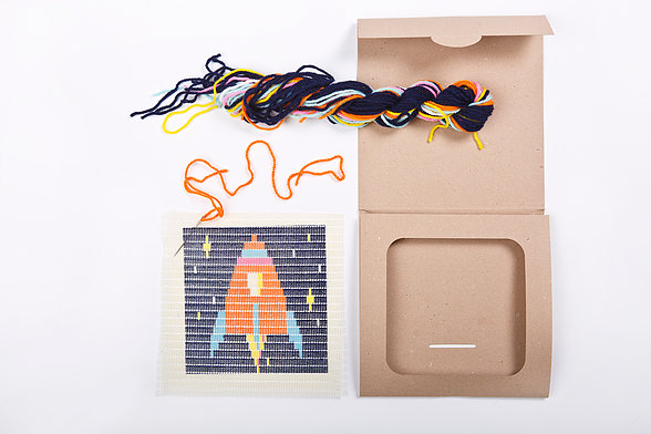 Green Queen   חנות עיצוב: SOZO - ערכת רקמה לילדים – טיל