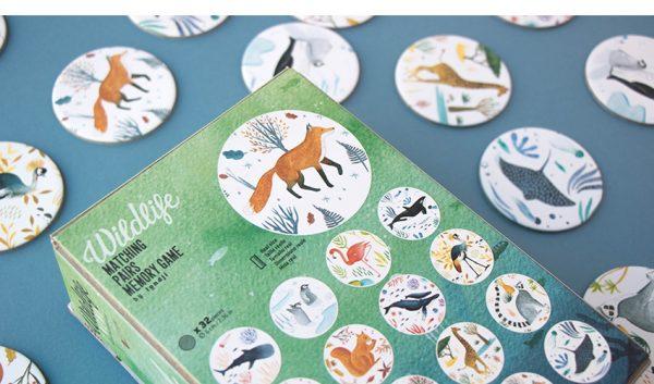 wildlife memory game משחק זכרון
