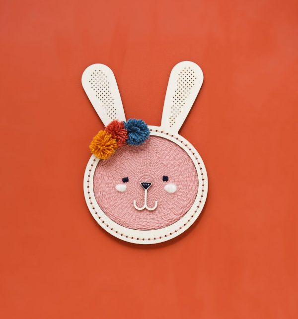 ערכת יצירה לילדים, אריגה, ארנב