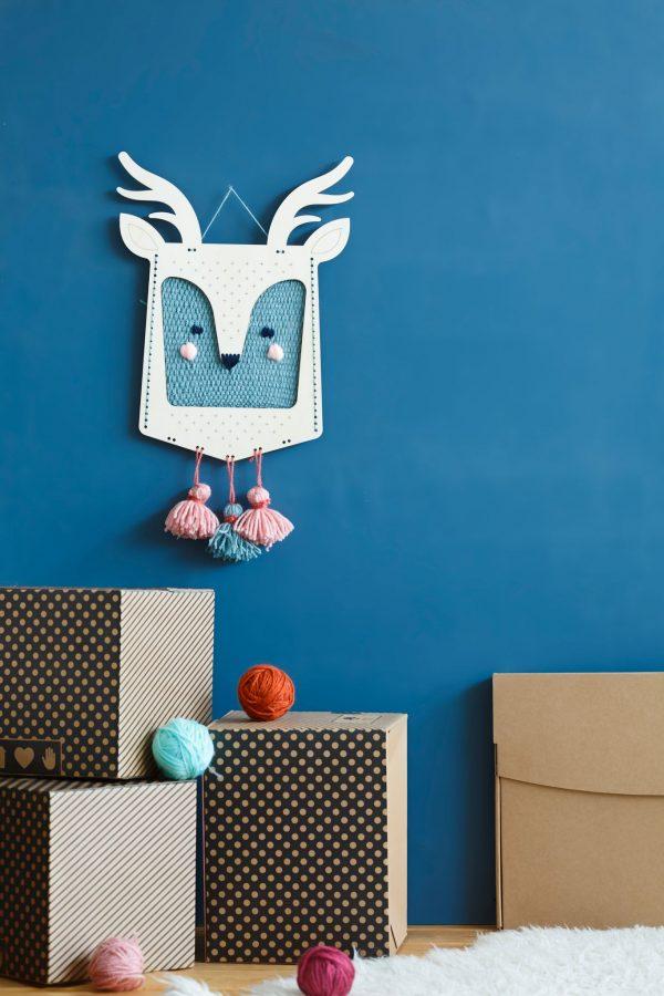 ערכת יצירה לילדים, מסכה לקיר, עיצוב חדר ילדים