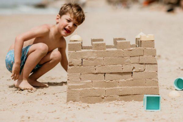 ערכת בנייה בחול של סנד פאל, משחקים לים