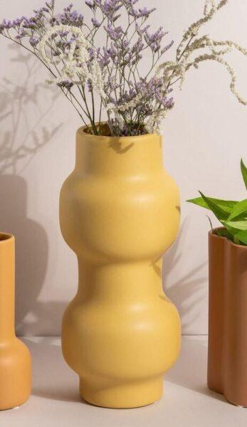אגרטל צהוב, עיצוב הבית ב GREEN QUEEN