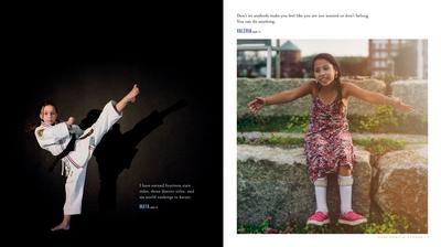 ספר צילומים בנות חזקות