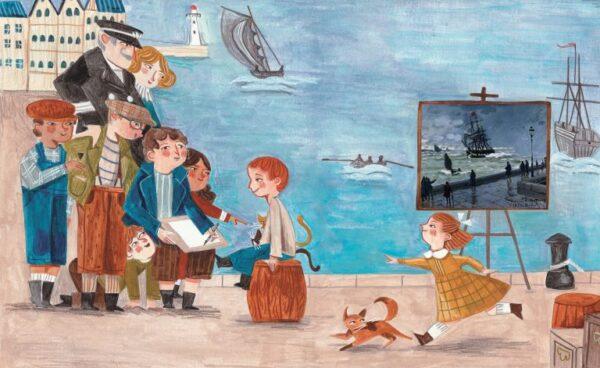 גרין קווין - ספר השראה מסדרת דיוקן של אמן בהוצאת צלטנר, קלוד מונה