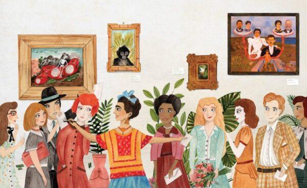 גרין קווין - ספר השראה מסדרת דיוקן של אמן בהוצאת צלטנר, פרידה קאלו