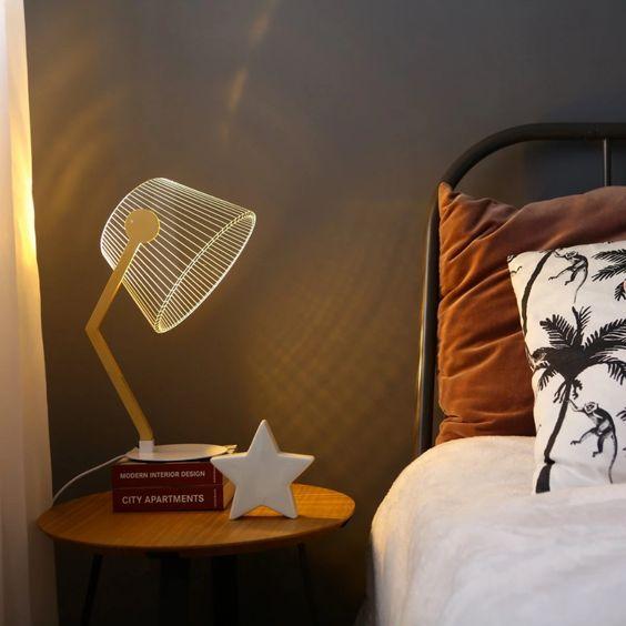 גרין קווין | מנורת זיגי ZIGGi, תאורה שיוצרת אשליה תלת מימדית
