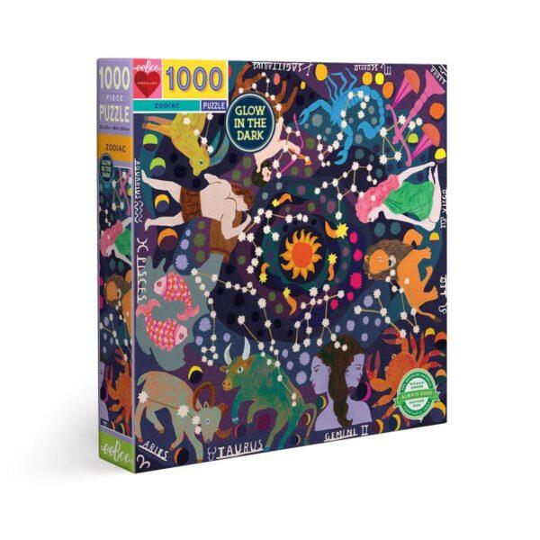 גרין קווין | פאזל 1000 חלקים גלגל המזלות - פאזלים למבוגרים, פאזלים לילדים