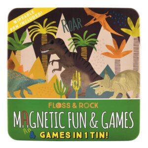 GREEN QUEEN | משחק תמונות מגנטי - דינוזאורים מבית Floss & Rock