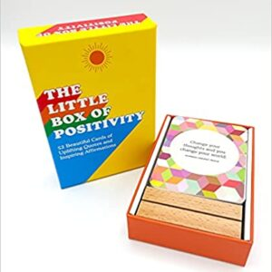 little box of positivity, קלפי השראה יומיים