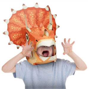 גרין קווין חנות צעצועים: מסכה לפורים, מסכה של טריצרטופ, מסיכת טריצרטופ