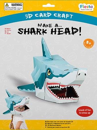 גרין קווין חנות צעצועים: מסכה לפורים, מסיכת פורים, מסכה של כריש, מסיכת כריש