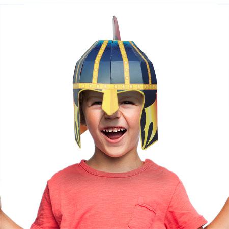גרין קווין חנות צעצועים: מסכה לפורים, קסדה של אביר, קסדה