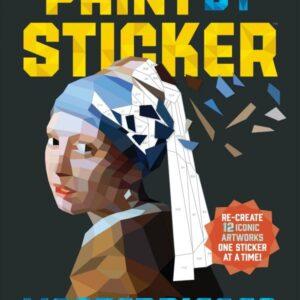 חוברת צביעה במדבקות paint by sticker