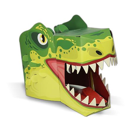 גרין קווין חנות צעצועים: מסכה לפורים, מסיכת פורים, מסכה של טי רקס