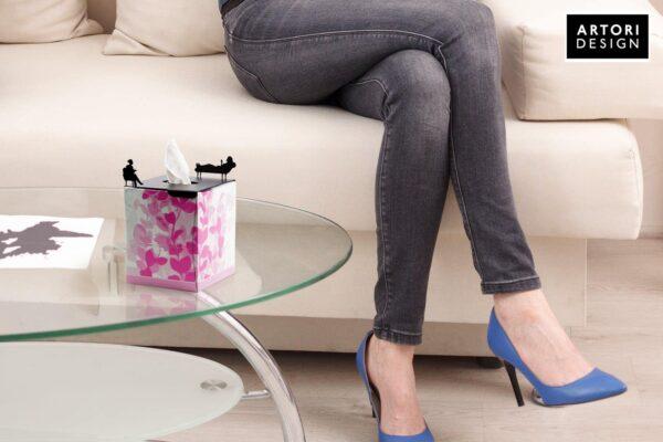 גרין קווין חנות עיצוב : בטיפולה – כיסוי לקופסת טישו מרובעת ARTORI
