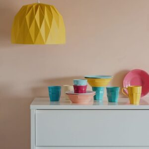 מנורת אוריגמי צהובה GREEN QUEEN חנות עיצוב