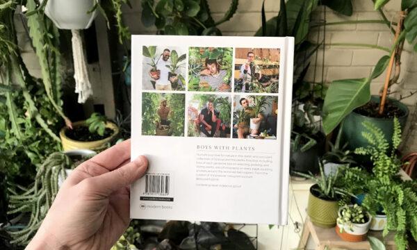 GREEN QUEEN חנות מתנות: Boys with Plants ספר לחובבות וחובבי הגינון