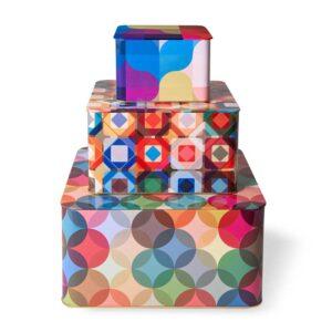 סט 3 קופסאות אחסון ממתכת, גרין קווין חנות עיצוב בבנימינה