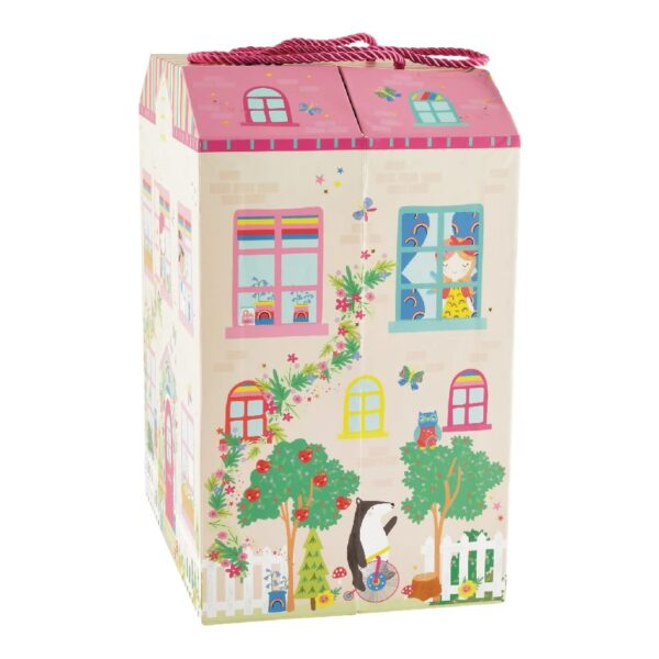 גרין קווין:חנות משחקים - בית בובות פיות קשת בענן מבית Floss & Rock