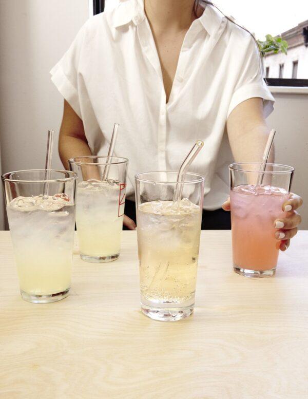 גרין קווין, חנות עיצוב הבית - מוצרים מיוחדים למטבח: קשיות רב פעמיות: זכוכית