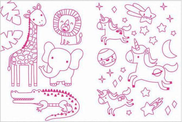 גרין קווין, חנות אקססוריז: ערכת יצירה לילדים - סקוושי חד קרן