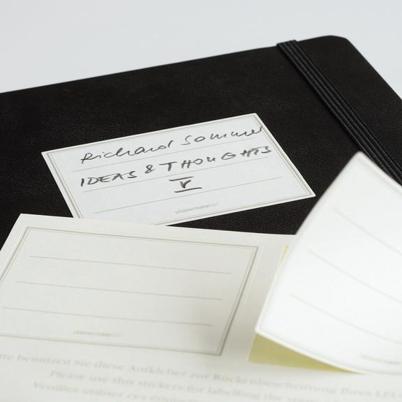 גרין קווין, חנות מוצרי נייר: מחברת כריכה קשה A5 :Black - מחברת מעוצבת