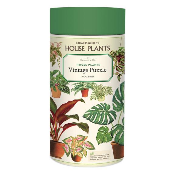 GREEN QUEEN - פאזלים למבוגרים - פאזל 1000 חלקים: House Plants