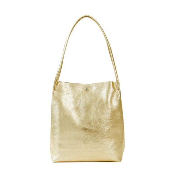 GREEN QUEEN חנות אינטרנטית: תיק צד Lusso M זהב