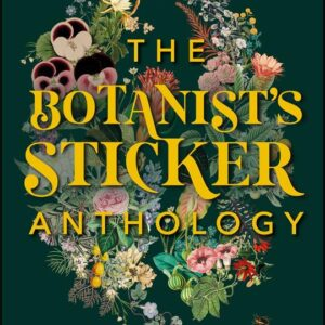 GREEN QUEEN - חוברת מדבקות The Botanist's Sticker Anthology