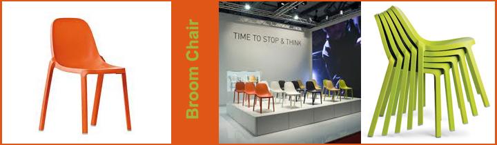 Broom Chair, פיליפ סטארק, מילאנו, הממלכה הירוקה