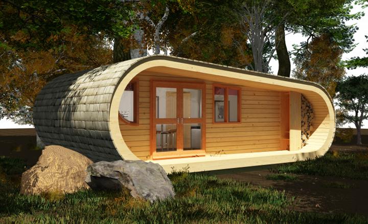קנט גריסוולד, tinyhouseblog, עיצוב ירוק, הממלכה הירוקה, בית עץ