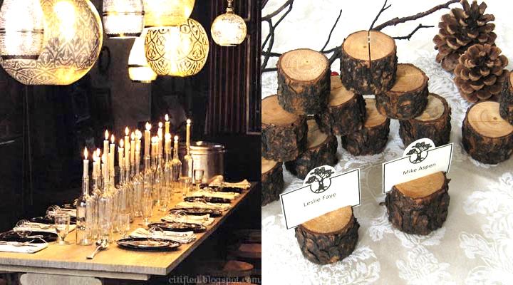 אהילים מעוצבים, אהילים עבודת יד, אלגנטי, עיצוב אקולוגי, ירוק, בז', סידור שולחן חג